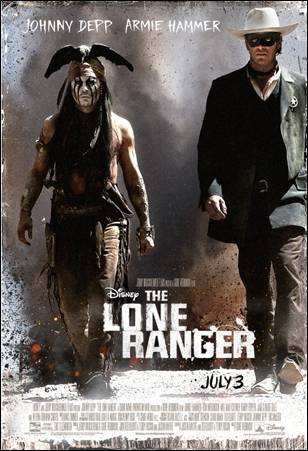 New Lone Ranger Poster And Sundays Game Sneak Peek