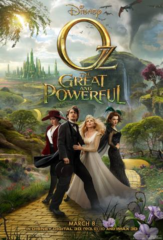 Disney Oz The Great and Powerful Sweepstakes and an Instant Win game