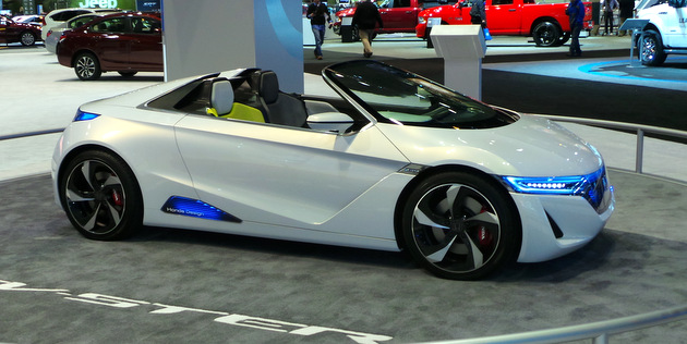 Chicago Auto Show Honda Concept Car