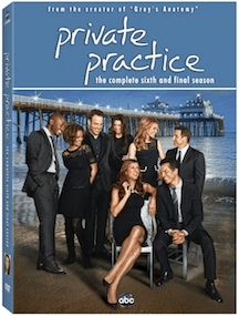 Private Practice Final Season 6 on DVD May 7th