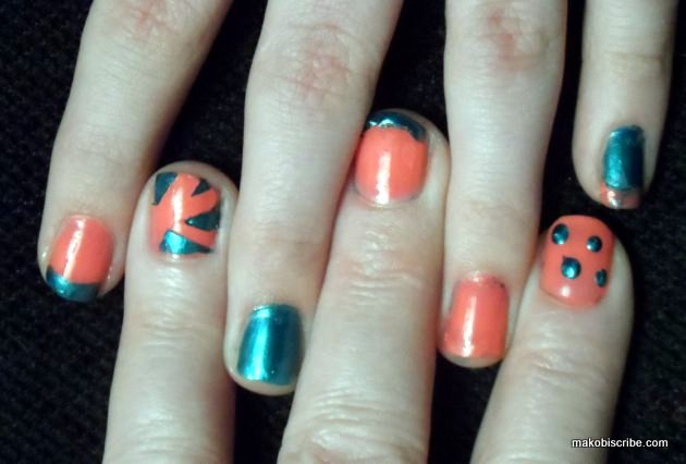 Try These Easy To Do Nail Art Designs