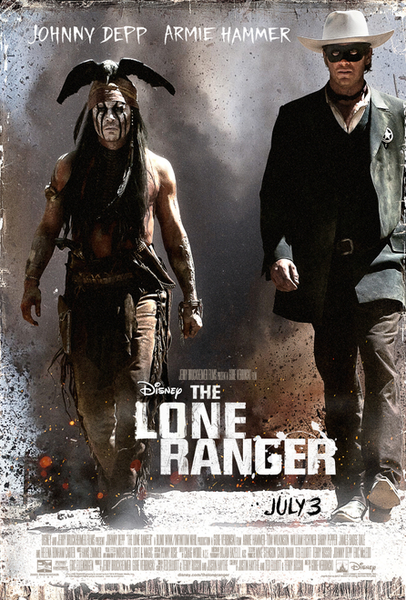 THE LONE RANGER – New Trailer Now Available!!!