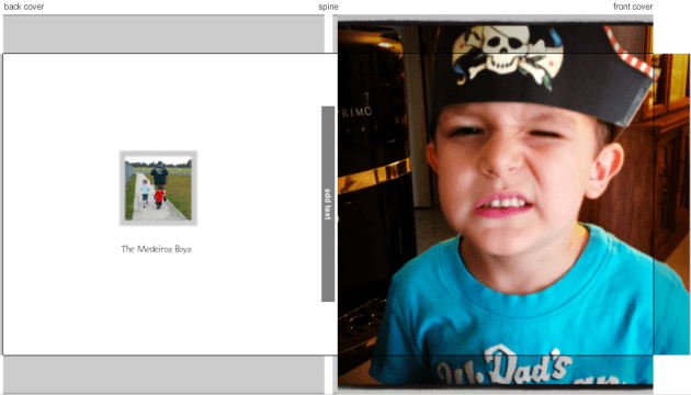 Creating a memory book with Snapfish