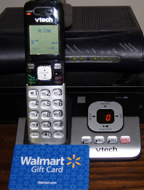 Home Telephone And Answering Machine From VTech