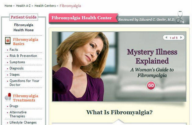 Fibromyalgia Health Center
