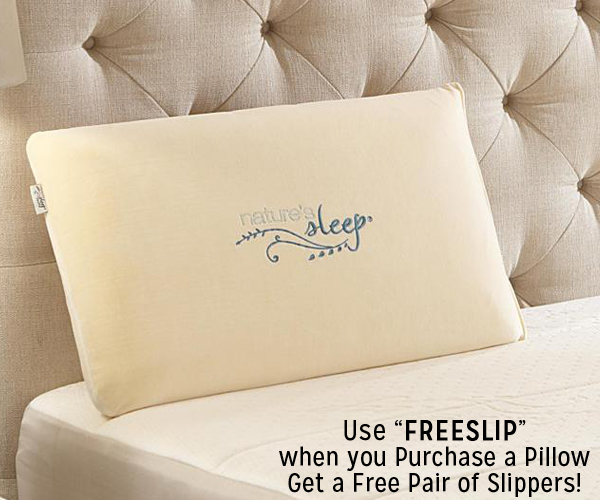 Nature's Sleep FREE Slipper Deal!