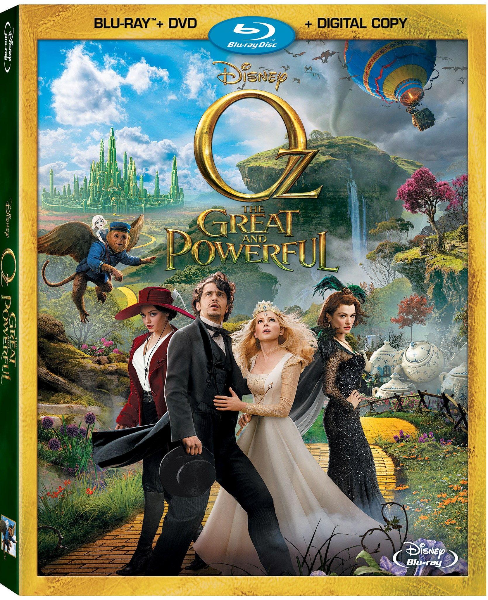 OZ THE GREAT AND POWERFUL Is Now On DVD