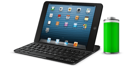 Ultrathin Keyboard Cover for iPad Mini by Logitech