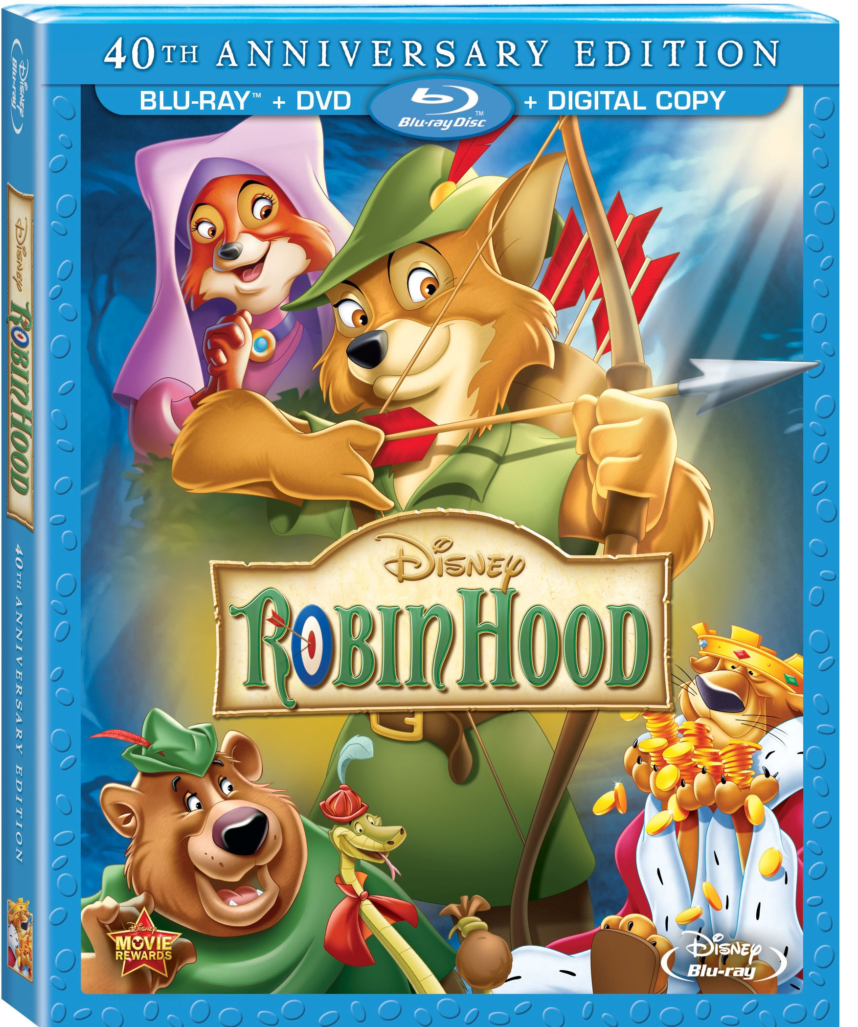 Disney's ROBIN HOOD Now On DVD