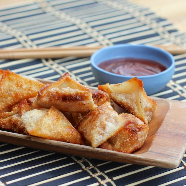 Barbecue Fried Wontons Meal Recipe #kraftrecipemakers