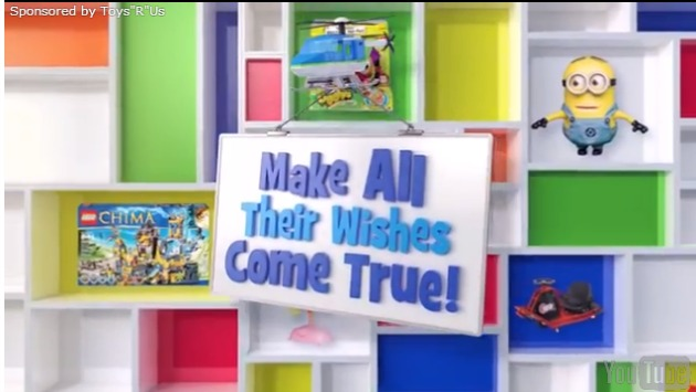 Sponsored Video: Toys R Us Is Making Wishes Come True #WishinAccomplished