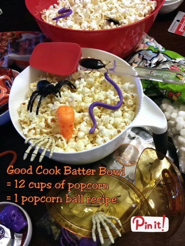Popcorn Balls Trick or Treat