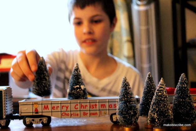 The Lionel Peanuts Christmas Train Gondola