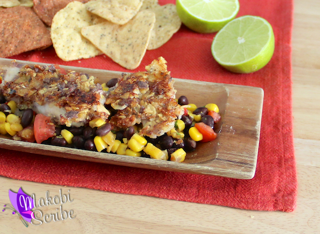 Mojito Fish And Salsa Recipe  #CansGetYouCooking