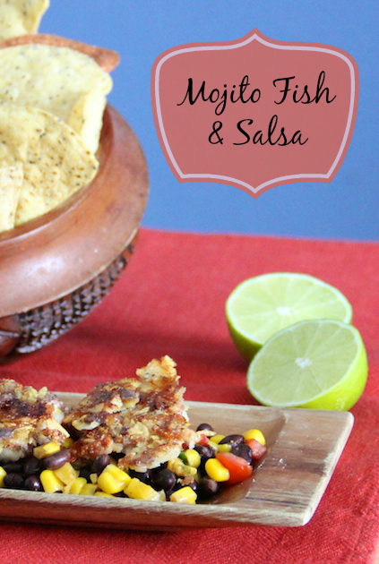 Mojita Fish and Salsa Recipe