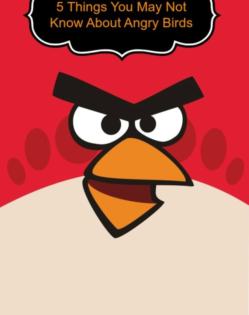 5 things you may not know about angry birds