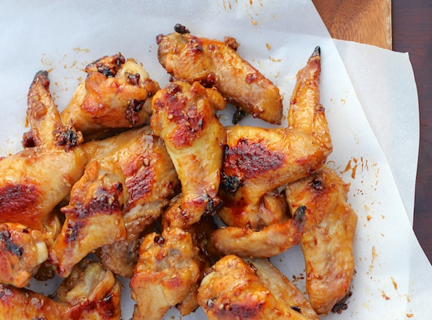 Sesame Pecan Chicken Wings #OXO #AppetizerWeek