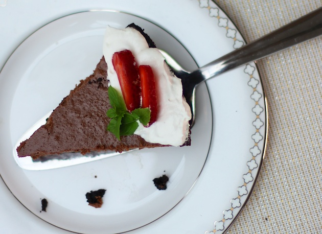 Chocolate Yogurt Pie Recipe
