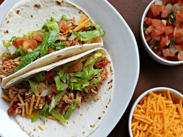 Slow Cooker Pork Tacos Recipe