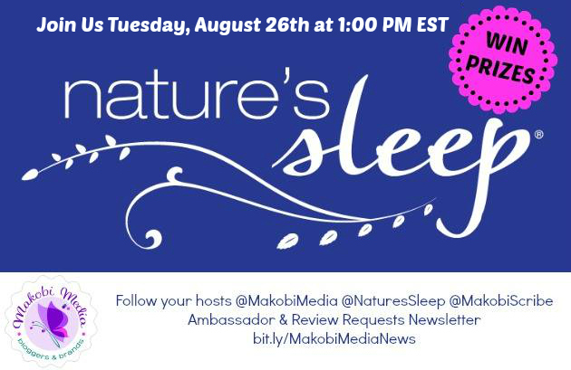nature's sleep Twitter Chat