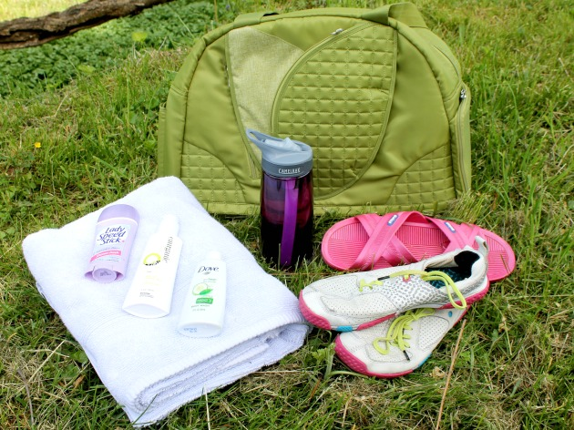 Top Six Gym Bag Essentials #momsgifts