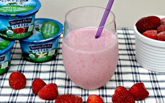 Fuel Your Body With A Stonyfield Yogurt Smoothie