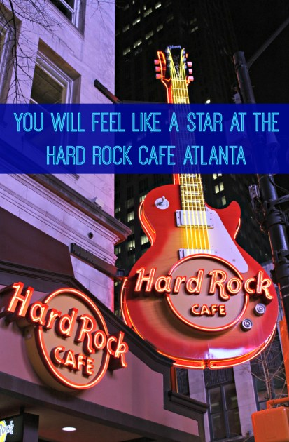 You Will Feel Like A Star At The Hard Rock Cafe Atlanta