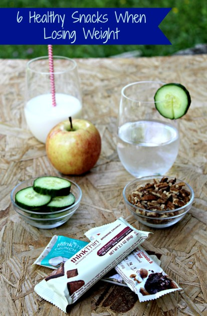 6 Healthy Snacks When Losing Weight Pin