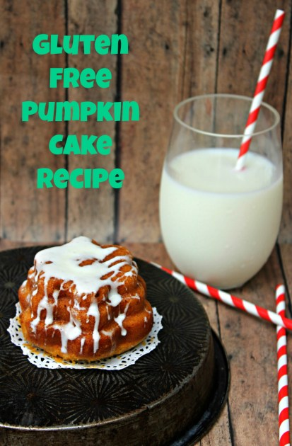 Gluten Free Pumpkin Cake Recipe Pin