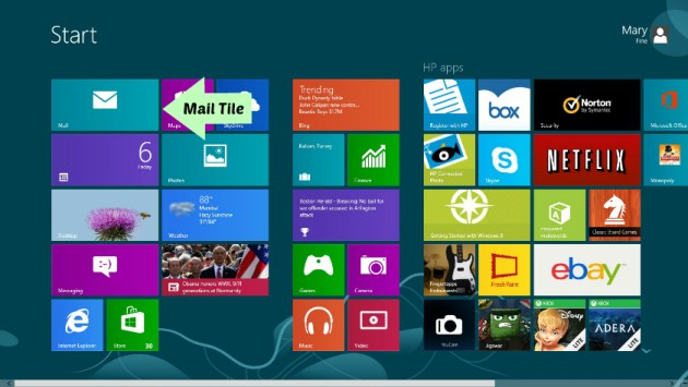 How to use windows 8 in desktop mode mail
