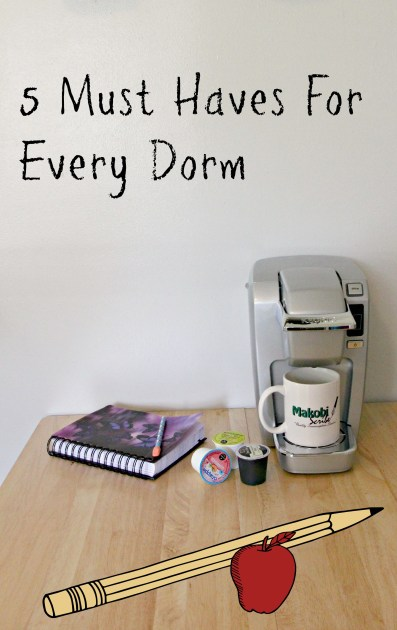 5 Must Haves for every Dorm