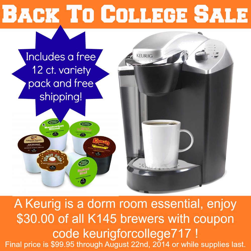 Back to College Keurig Brewer Sale!