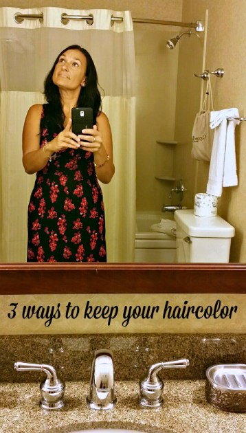 3 ways to keep your haircolor