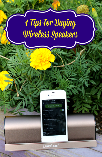 4 Tips For Buying Wireless Speakers pin