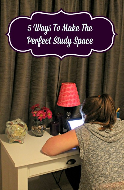 5 Ways To Make The Perfect Study Space Pin