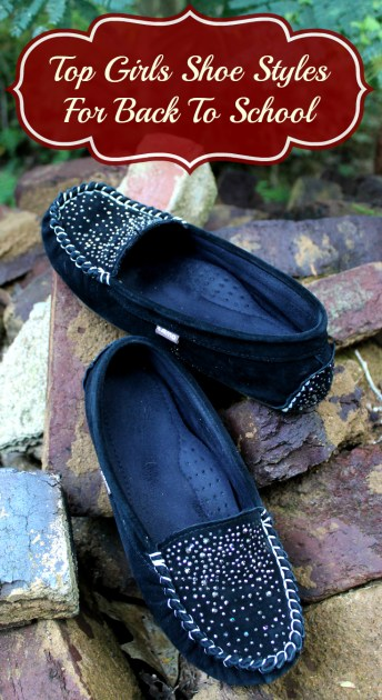Top Girls Shoe Styles For Back To School  pin