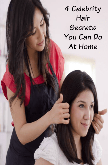 4 Celebrity Hair Secrets You Can Do At Home