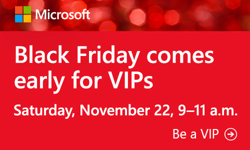 You Are Invited To The Microsoft Retail Store's VIP Shopping Party #MSFTStore