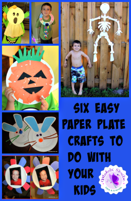 Paper plate crafts to do with kids