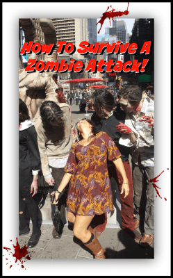 survive zombie attack pin