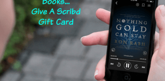 Give The Gift Of Books... Give A Scribd Gift Card