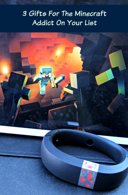 3 Gifts For The Minecraft Addict On Your List