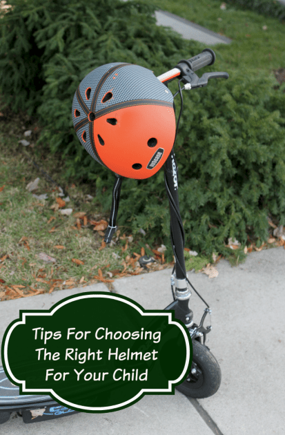 Tips For Choosing the right helmet for your child