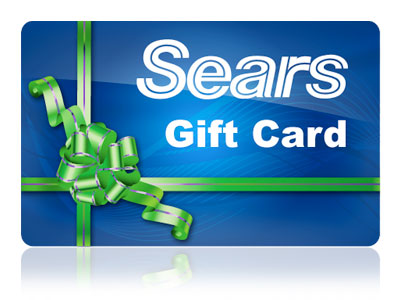 Sears December Weekly Gift Card Sweepstakes