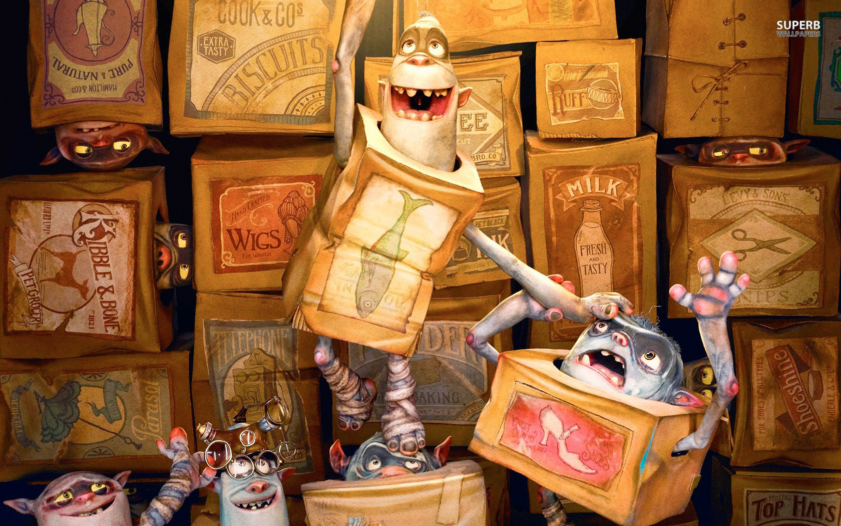 The Boxtrolls Are A Quirky Bunch Who Are Truly Magical