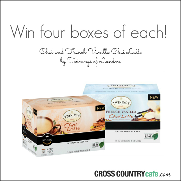 Cross Country Cafe Monthly Keurig K-cup Coffee Giveaway