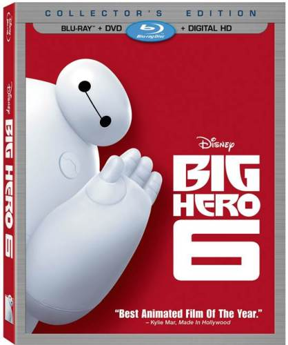 big hero 6 cover