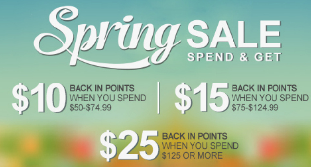 Save Big With The Shop Your Way Spring Sale!