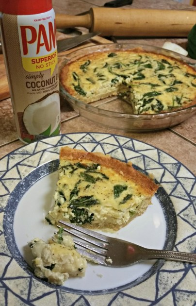 spinach cheese quiche recipe