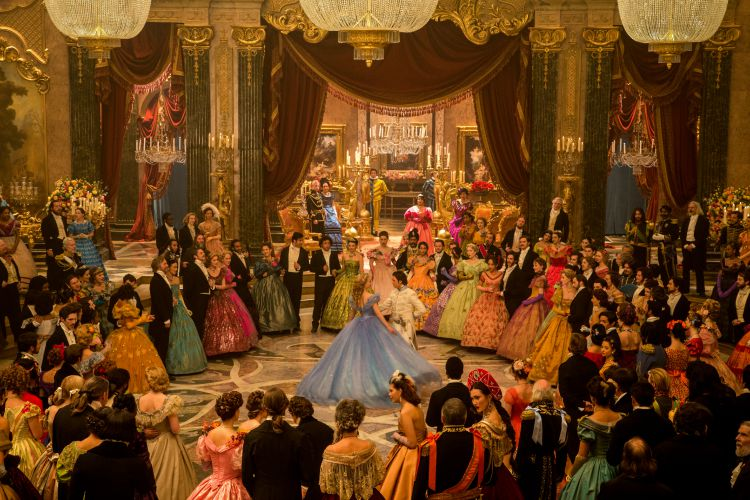 Lily James is Cinderella and Richard Madden is the Prince in Disney's live-action feature inspired by the classic fairy tale, CINDERELLA, which brings to life the timeless images from Disney's 1950 animated masterpiece as fully-realized characters in a visually dazzling spectacle for a whole new generation.